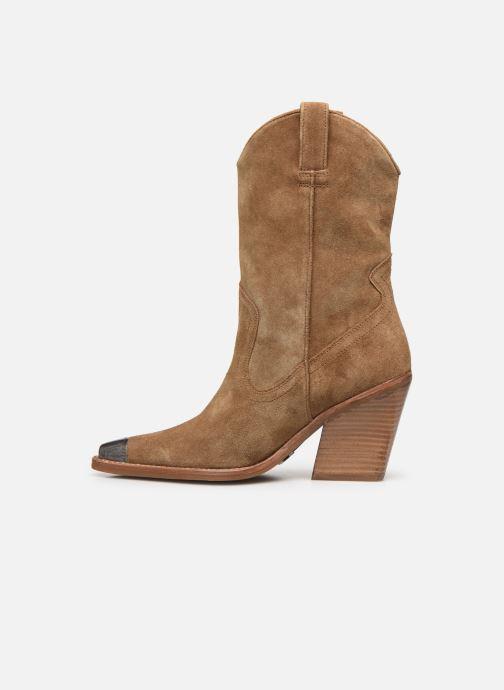 Bottines et boots Bronx NEW-KOLE 34139 Marron vue face