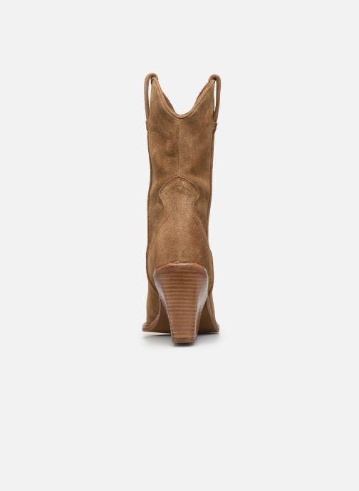 Bottines et boots Bronx NEW-KOLE 34139 Marron vue droite