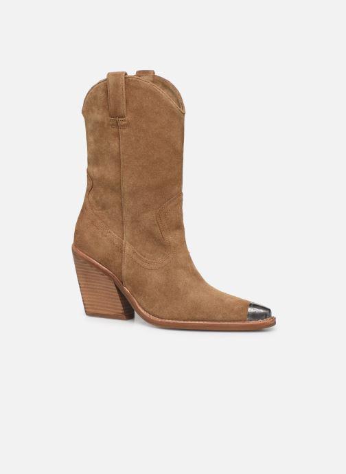 Bottines et boots Bronx NEW-KOLE 34139 Marron vue détail/paire