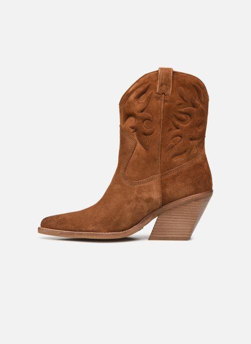 Bottines et boots Bronx LOW-KOLE 34151 Marron vue face