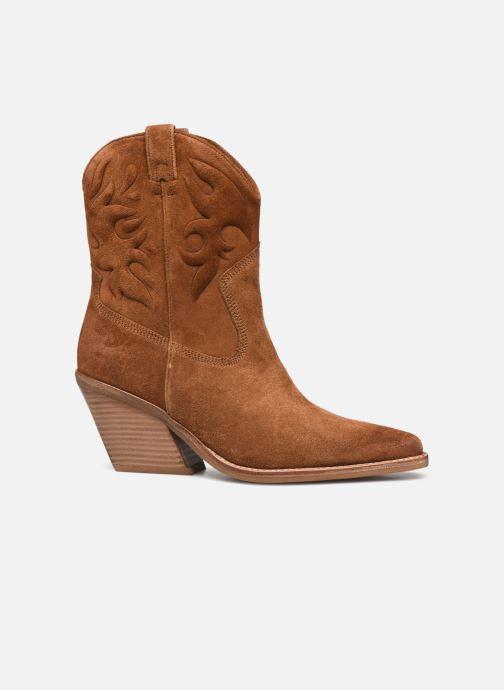 Bottines et boots Bronx LOW-KOLE 34151 Marron vue derrière