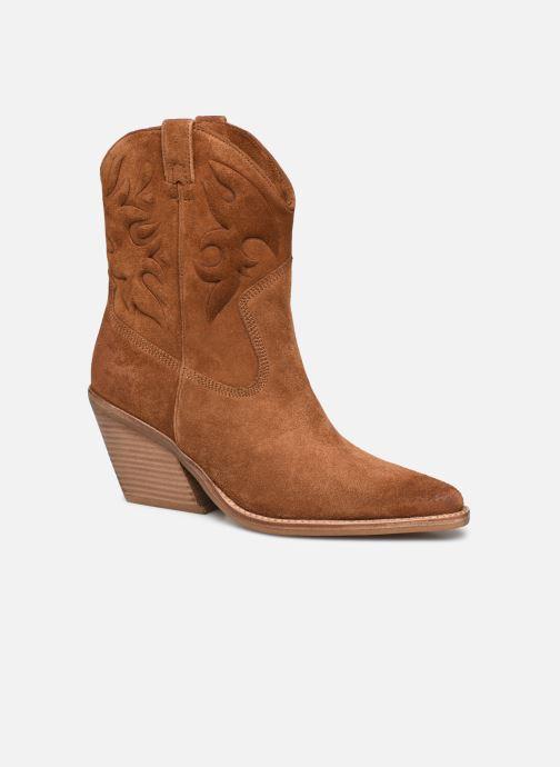 Bottines et boots Bronx LOW-KOLE 34151 Marron vue détail/paire