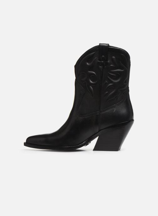 Bottines et boots Bronx LOW-KOLE 34151 Noir vue face