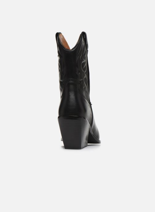 Boots en enkellaarsjes Bronx LOW-KOLE 34151 Zwart rechts