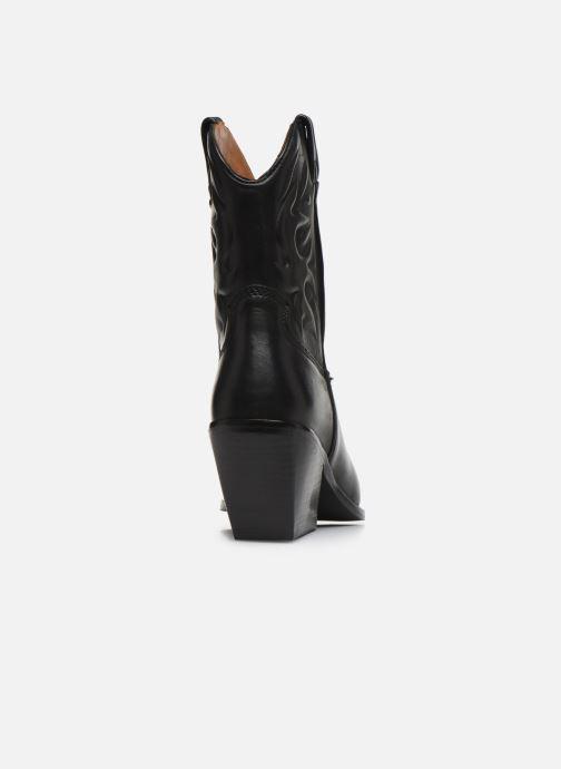 Bottines et boots Bronx LOW-KOLE 34151 Noir vue droite