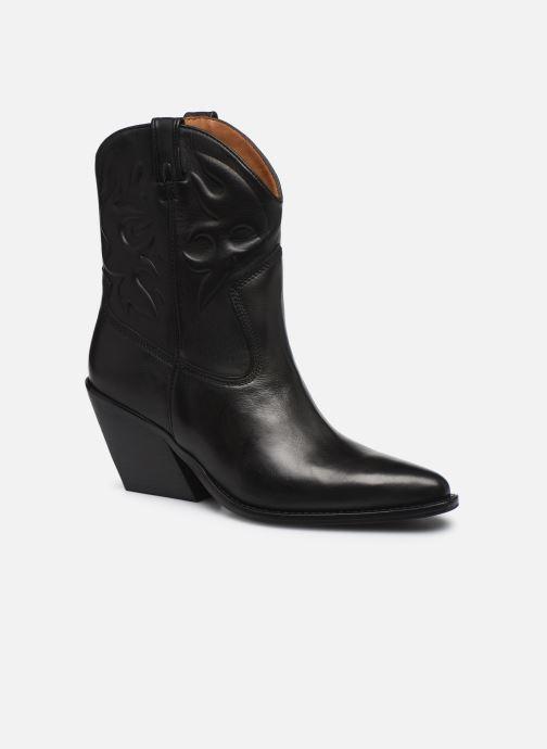 Boots en enkellaarsjes Bronx LOW-KOLE 34151 Zwart detail