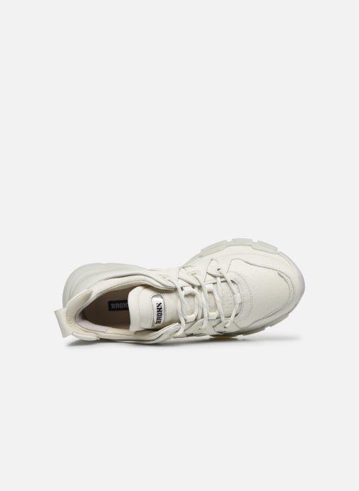 Sneakers Bronx SEVENTY-STREET 66320 Bianco immagine sinistra