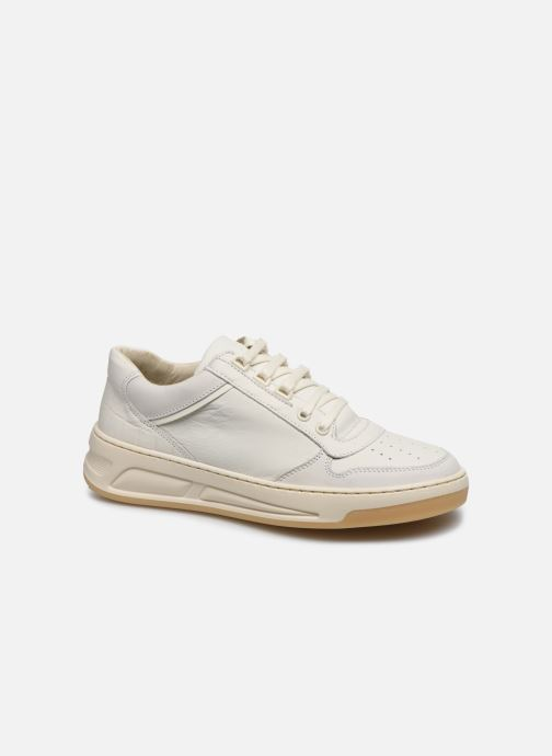 Baskets Bronx OLD-COSMO 66330 Blanc vue détail/paire