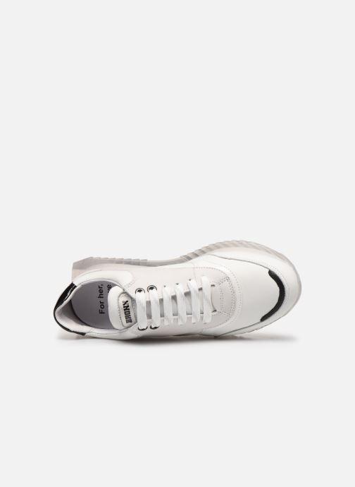 Sneakers Bronx LINKK-UP 66345 Bianco immagine sinistra