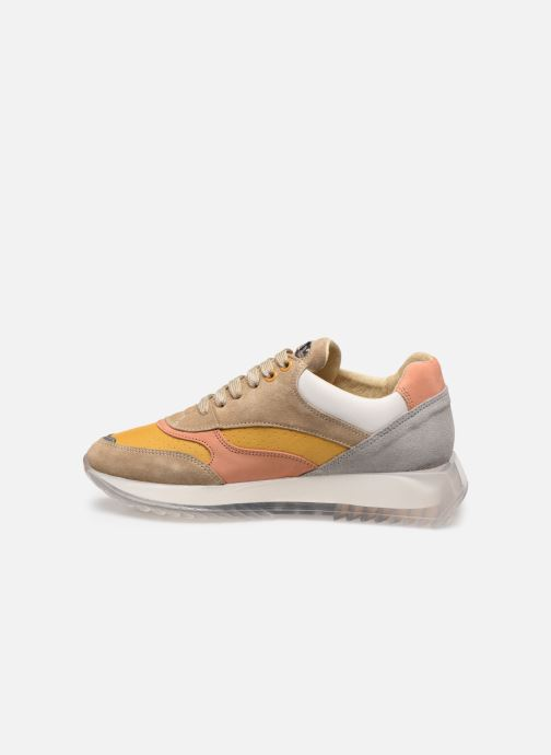 Sneakers Bronx LINKK-UP 66345 Beige immagine frontale