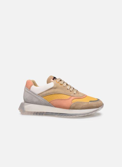 Sneakers Bronx LINKK-UP 66345 Beige immagine posteriore