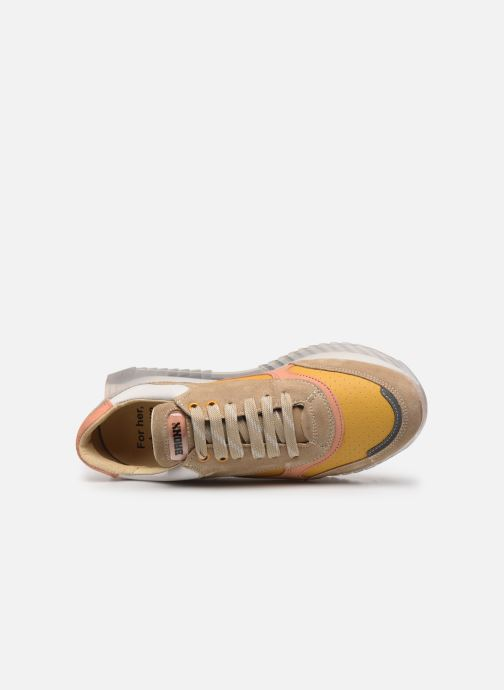 Sneakers Bronx LINKK-UP 66345 Beige immagine sinistra