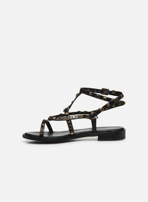 Sandali e scarpe aperte Bronx THRILL 84820 Nero immagine frontale