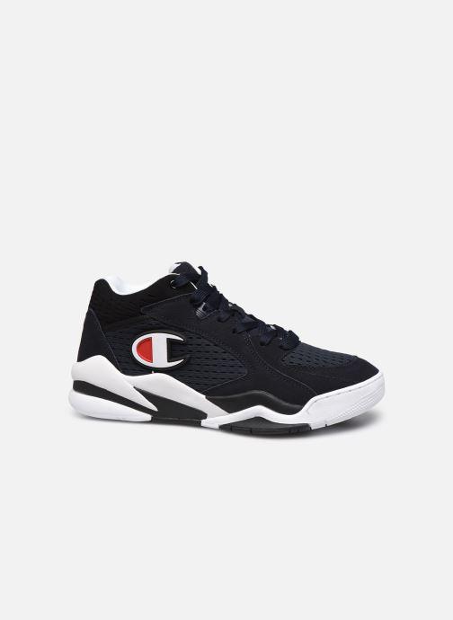 Sneaker Champion Mid Cut Shoe Zone Mid Mesh blau ansicht von hinten