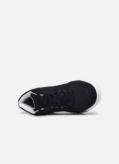 Sneaker Champion Mid Cut Shoe Zone Mid Mesh blau ansicht von links
