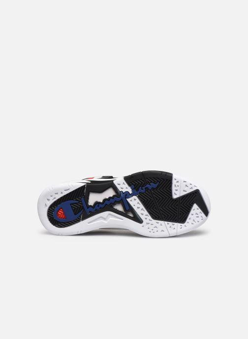 Sneaker Champion Mid Cut Shoe Zone Mid Mesh blau ansicht von oben