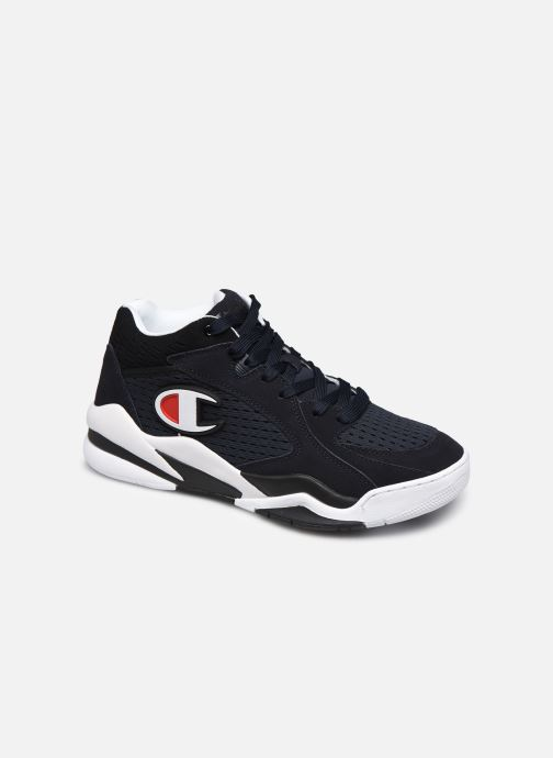 Sneaker Champion Mid Cut Shoe Zone Mid Mesh blau detaillierte ansicht/modell