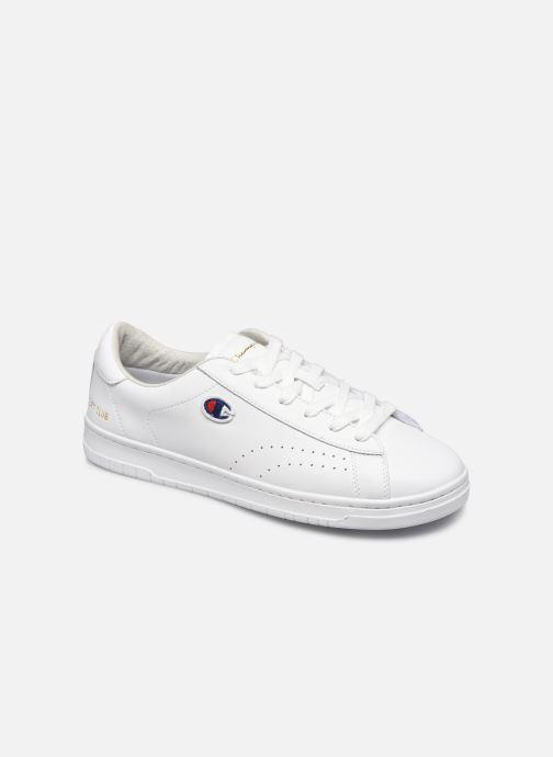 Deportivas Champion Low Cut Shoe Court Club Patch Blanco vista de detalle / par