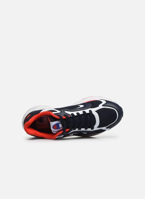 Baskets Champion Low Cut Shoe Lexington 200 Bleu vue gauche