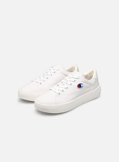 Baskets Champion Low Cut Shoe Era Canvas Blanc vue bas / vue portée sac