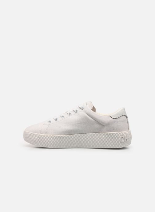 Baskets Champion Low Cut Shoe Era Canvas Blanc vue face