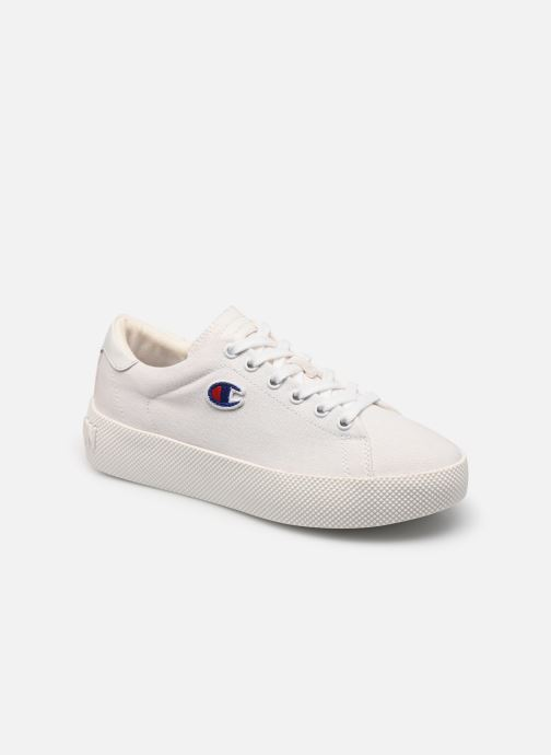 Baskets Champion Low Cut Shoe Era Canvas Blanc vue détail/paire