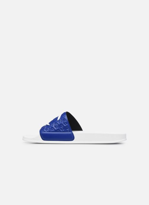 Sandales et nu-pieds Champion Slide M-EVO Bleu vue face