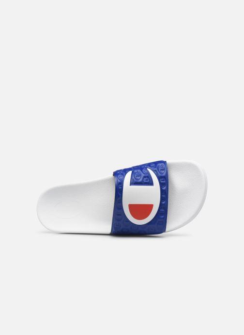 Sandalen Champion Slide M-EVO blau ansicht von links