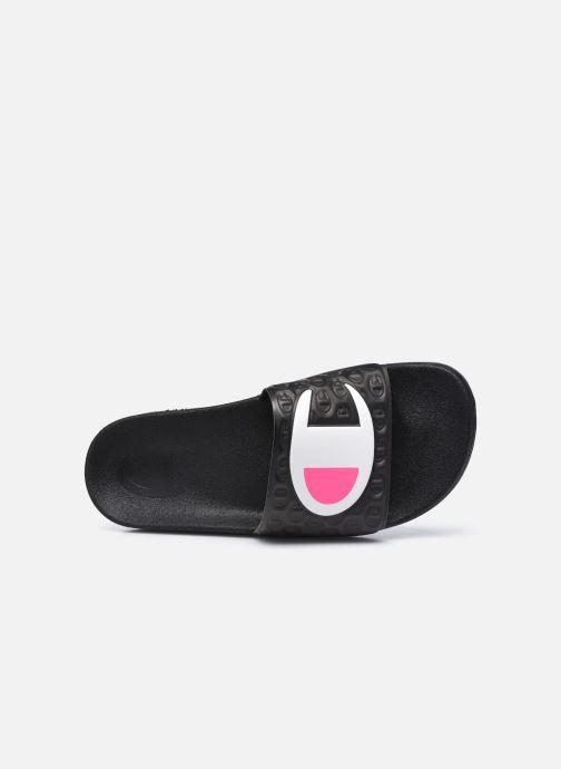 Sandalen Champion Slide M-EVO schwarz ansicht von links
