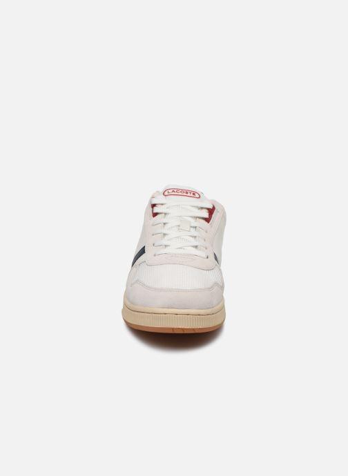 Baskets Lacoste T-Clip 120 2 Us Sma Blanc vue portées chaussures