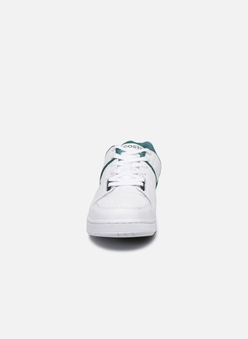 Baskets Lacoste Thrill 120 1 Sma Blanc vue portées chaussures