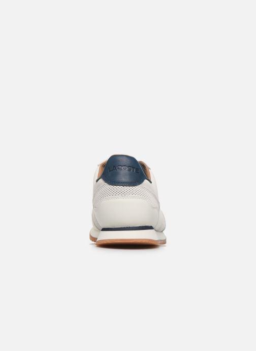 Baskets Lacoste Aesthet Luxe 120 1 Sma Blanc vue droite