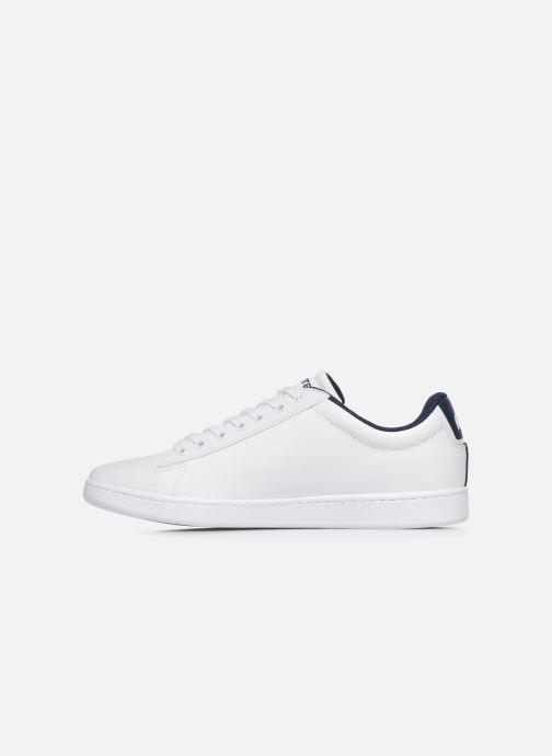 Sneaker Lacoste Carnaby Evo Tri1 Sma weiß ansicht von vorne