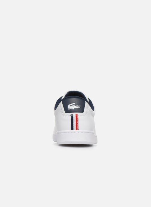 Sneaker Lacoste Carnaby Evo Tri1 Sma weiß ansicht von rechts