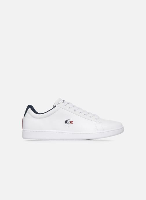 Baskets Lacoste Carnaby Evo Tri1 Sma Blanc vue derrière