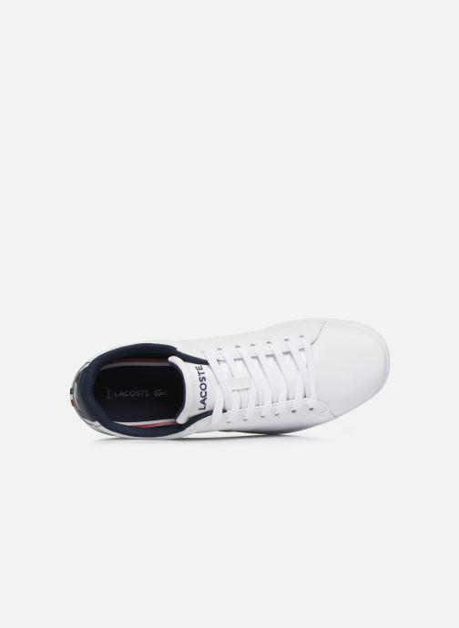 Sneaker Lacoste Carnaby Evo Tri1 Sma weiß ansicht von links