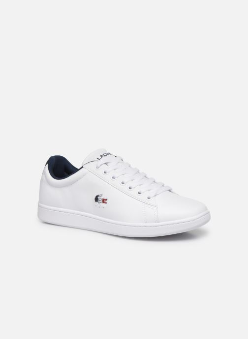 Baskets Lacoste Carnaby Evo Tri1 Sma Blanc vue détail/paire