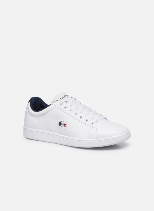 Sneaker Lacoste Carnaby Evo Tri1 Sma weiß detaillierte ansicht/modell