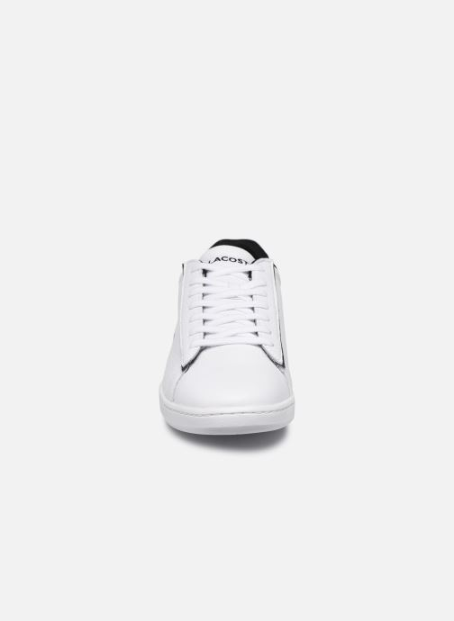 Baskets Lacoste Carnaby Evo 120 2 Sma Blanc vue portées chaussures