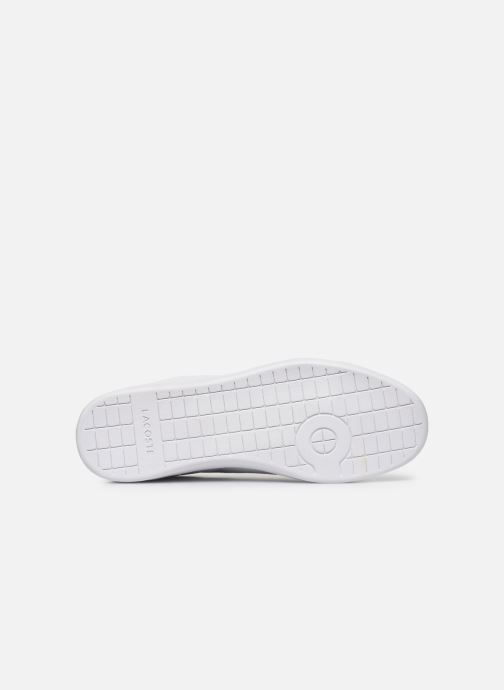 Trainers Lacoste Carnaby Evo 120 2 Sma White view from above