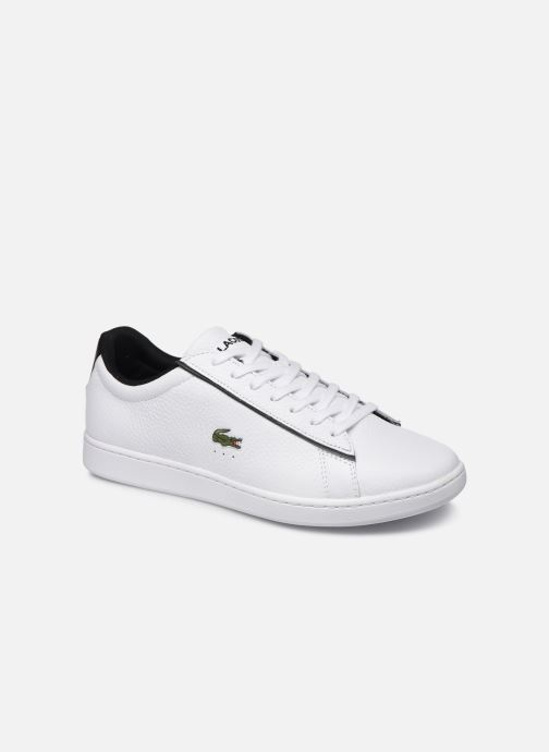 Trainers Lacoste Carnaby Evo 120 2 Sma White detailed view/ Pair view