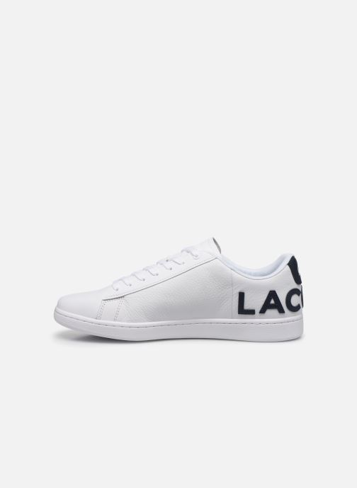 Baskets Lacoste Carnaby Evo 120 7 Us Sma Blanc vue face