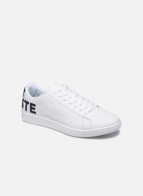 Baskets Lacoste Carnaby Evo 120 7 Us Sma Blanc vue détail/paire