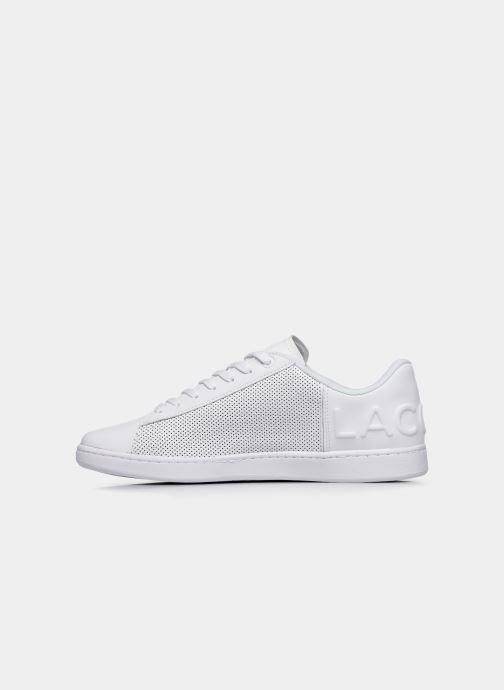 Baskets Lacoste Carnaby Evo 120 5 Sma Blanc vue face