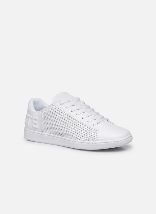 Baskets Lacoste Carnaby Evo 120 5 Sma Blanc vue détail/paire