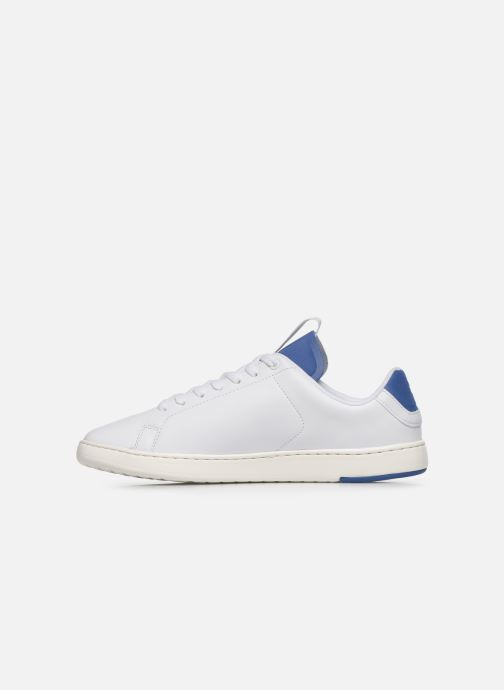 Baskets Lacoste Carnaby Evo Light-Wt 1201Sma Blanc vue face