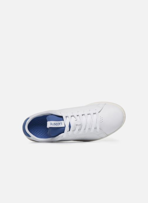 Baskets Lacoste Carnaby Evo Light-Wt 1201Sma Blanc vue gauche