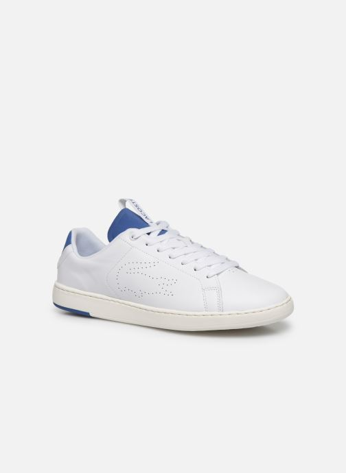 Baskets Lacoste Carnaby Evo Light-Wt 1201Sma Blanc vue détail/paire