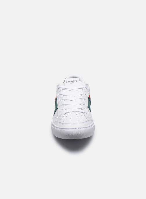 Baskets Lacoste Courtline 120 2 Us Cma Blanc vue portées chaussures