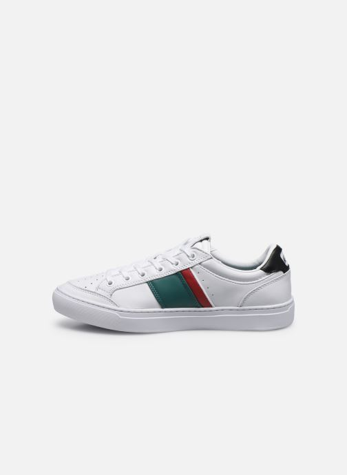 Baskets Lacoste Courtline 120 2 Us Cma Blanc vue face